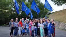 Бориспільщина вітає українців з відкриттям «безвізу» з Європейським Союзом. Фото