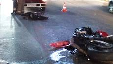 У Борисполі мотоцикл розірвало навпіл внаслідок ДТП на перехресті. Фото