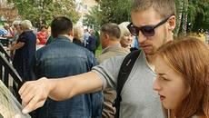 Маловідома історія Борисполя: на Алеї Тисячоліття встановили 10 екскурсійних стендів. Відео