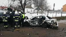 У Борисполі водій, втікаючи від патрульних, вчинив смертельну ДТП. Фото