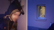 Поліцейські Борисполя за гарячим слідом затримали домушника-іноземця. Фото