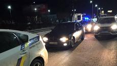 Нетверезого водія, який не розрахувався на АЗС, затримали патрульні Борисполя. ФОТО