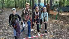 Спортсмени із Борисполя – чемпіони обласних змагань з пішохідного туризму. Фото