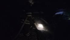 У Борисполі сталася пожежа – горіли дрова на відкритій місцевості. Фото