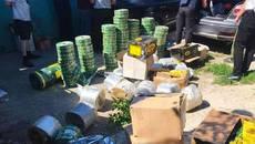 Підпільні сховища «брендової» кави викрили правоохоронці у Борисполі. Фото