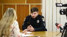 Ексклюзивне інтерв'ю з новим очільником патрульної поліції Борисполя Дмитром Гладчуком