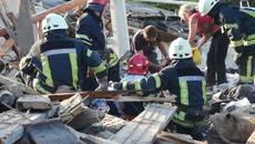 Вибух газу на Бориспільщині розтрощив будинок: загинула людина. Фото