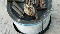 43 вибухонебезпечних предмети виявили на Бориспільщині протягом місяця. Фото