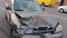 У Борисполі водій двічі за добу сів за кермо напідпитку та вчинив аварію. Фото