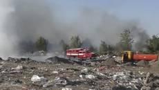 Пожежу на сміттєзвалищі у Борисполі прокоментував перший заступник міського голови Микола Корнійчук. Відео