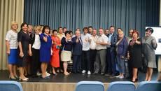 Євген Клопотенко презентував у Борисполі проект «Нове шкільне харчування». Фото