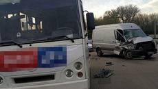 Нетверезий водій вчинив ДТП у Борисполі – винуватця відсторонили від керування авто. Фото