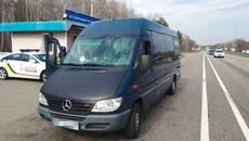 Водій автобуса сів за кермо напідпитку – патрульні Борисполя зупинили порушника. Фото