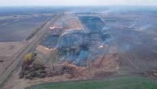 Поблизу заводу «Рошен» у Борисполі гасили пожежу