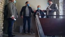 Ремонт бориспільської лікарні проінспектував голова РДА Володимир Строкань