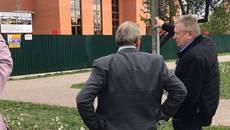 Будівництво нової амбулаторії у Борисполі продовжується швидкими темпами. ФОТО
